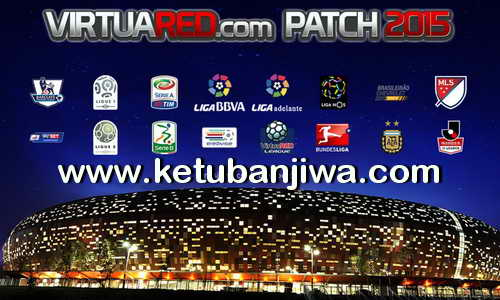 PES 2015 VirtuaRED Patch 3.0 Full Transfer Season 15-16 Ketuban Jiwa