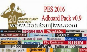 PES 2016 Adboards Pack v0.9 by Majuh