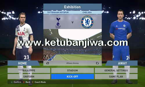 PES 2016 Exclusive Patch v1.01 Update Fix Kits by PES-Modif Ketuban Jiwa