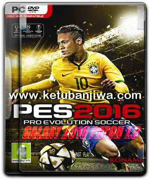 PES 2016 Galaxy Patch 1.0 by Eslam Emam Ketuban Jiwa