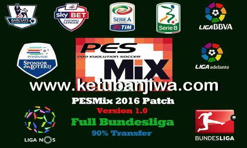 PES 2016 PESMix Patch v1.0 Full Bundesliga