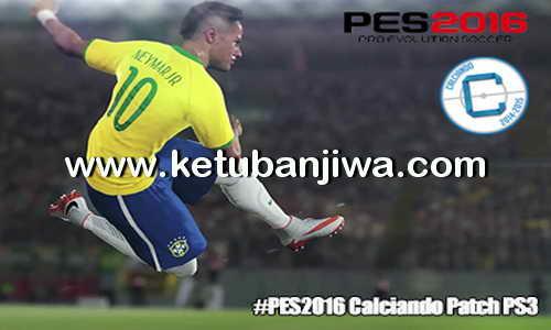 PES 2016 PS3 Option File Calciando's Patch BETA Ketuban Jiwa