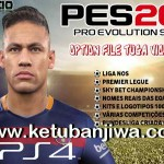PES 2016 PS4 Tuga Vicio Option File v0.1