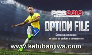 PES 2016 PS4 Option File v0.1 by JVConsole