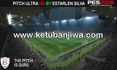 PES 2016 Pitch Ultra HD Graphics by Estarlen Silva Ketuban Jiwa