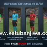 PES 2016 Referee Kitserver Pack v1 by CRONOS