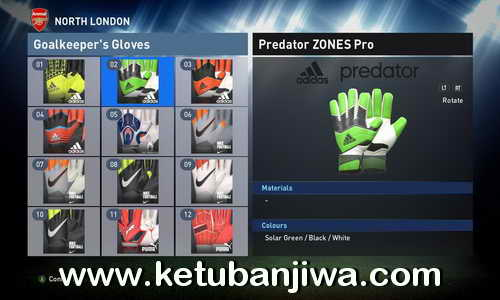 PES 2016 Unlock 24 Gloves by Boonaun Ketuban Jiwa