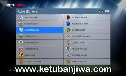 PES 2016 Unlock Hidden Fake Team in Other European League by Alby Ketuban Jiwa