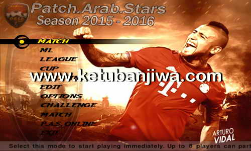 PES6 Arab Stars Patch Full Summer Transfer Season 2015-2016 Ketuban Jiwa