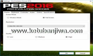 Pro Evolution Soccer PES 2016 Reloaded Crack Settings.exe