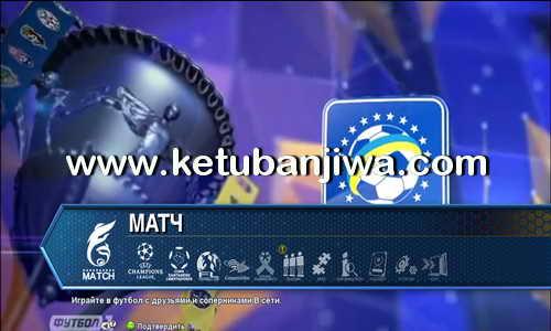 PES 2013 PES-Ukraine 1.0 Season 2015-2016 Ukrainian Premier League Ketuban Jiwa