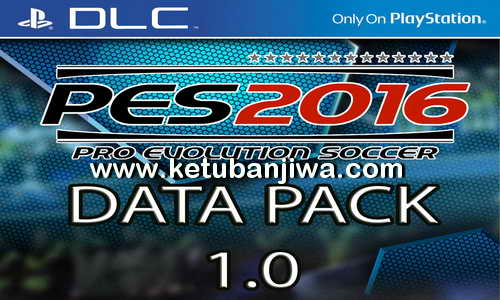 PES 2016 Data Pack DLC 1.0 PS3 BLUS - BLES + Patch 1.02 Ketuban Jiwa