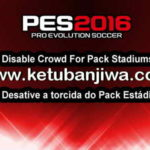 PES 2016 Disable Crowd Stadiums Pack by Estarlen Silva