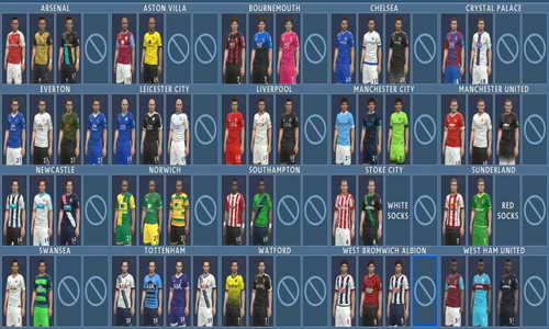 PES 2016 English Premier League Kitpack by Nemanja Ketuban Jiwa