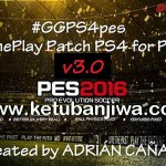 PES 2016 GGPS4pes v3.0 PS4 GamePlay Patch