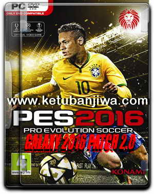 PES 2016 Galaxy Patch 2.0 by Eslam Emam Ketuban Jiwa