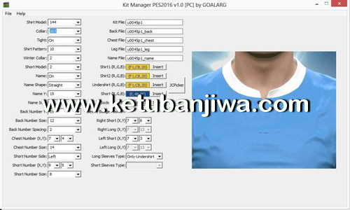 PES 2016 PC Kitserver Manager v3.0 by GOALARG Ketuban Jiwa