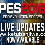 PES 2016 Official Live Update 22 October 2015