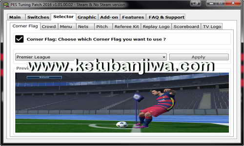 PES 2016 PC PES Tuning Patch v1.01.00.02 Ketuban Jiwa