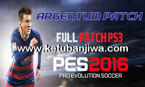 PES 2016 PS3 Argentum Patch v1 by Lucassn Ketuban Jiwa