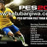 PES 2016 PS3 BLES Option File Tuga Vicio v0.1