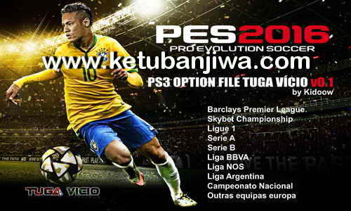 PES 2016 PS3 BLES Option File Tuga Vicio v0.1 by Kidoow Ketuban Jiwa