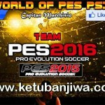 PES 2016 PS3 Option File v1 by World Of PES