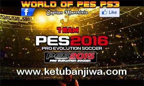 PES 2016 PS3 Option File v1 by World Of PES Ketuban Jiwa