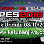 PES 2016 Stadiums Pack 0.1+Fix Update by Estarlen Silva