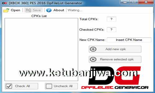 PES 2016 XBOX360 DpFileList Generator v1.1 by Extream87