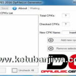 PES 2016 XBOX360 DpFileList Generator v1.1 by Extream87