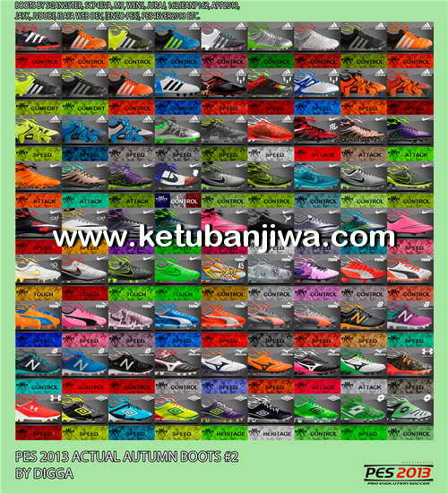 PES 2013 Actual Autumn Bootpack v2 by Digga Ketuban Jiwa