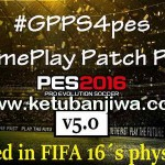 PES 2016 GGPS4pes v5.0 Like FIFA 16 Physics by DevKing