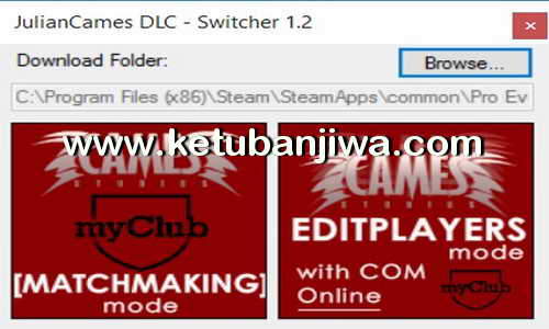 PES 2016 Julian Cames DLC Mods v1.2 + Switcher Support Official Data Pack 1.0 Ketuban Jiwa