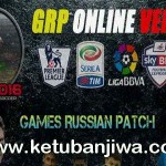 PES 2016 GRP Games Russian Patch Online Version 1.0