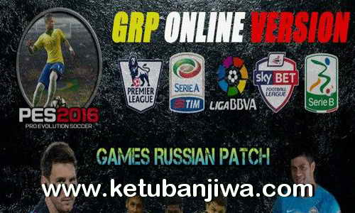 PES 2016 PC GRP Games Russian Patch Online Version 1.0 Ketuban Jiwa