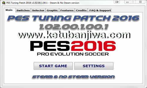 PES 2016 PC PES Tuning Patch Exe 1.02.01.1.00.1 Ketuban Jiwa