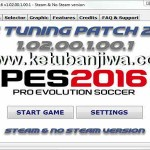 PES 2016 PES Tuning Patch v1.02.00.1.00.1