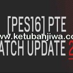 PES 2016 PTE Patch 2.1 Update Fix + 1.02.01