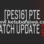 PES 2016 PTE Patch 2.1 Update Fix + 1.02.01