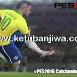 PES 2016 PS3 Option File Calciando Patch v3 DLC 1.0