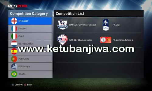 PES 2016 PS4 MoNo Option File v0.5 Ketuban Jiwa