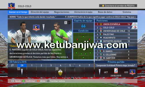 PES 2016 XBOX 360 TheViper12 Patch 1.4 Update Ketuban Jiwa