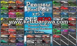 PES 2010 HD Bootpack Update X15.5 by PESEdit Style