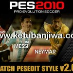 PES 2010 PESEdit Style Patch 2.0 Season 2015/16