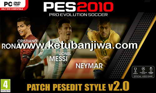 PES 2010 PESEdit Style Patch v2.0 Season 2015-16 by MateusNkc Ketuban Jiwa