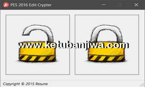 PES 2016 Edit Crypter v1.0 Tool by Rasuna Ketuban Jiwa