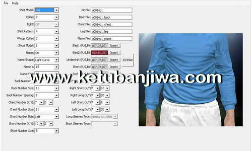 PES 2016 Kit Manager v5.0 Tool by GOALARG Ketuban Jiwa