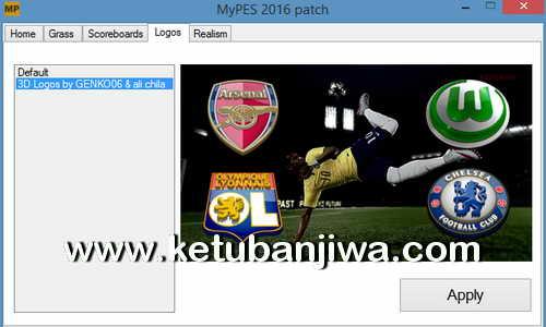 PES 2016 PC MyPES Patch 0.5 Included DLC 2.00 Ketuban Jiwa