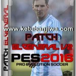 PES 2016 ElGeneral Patch v2 Single Link